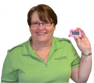 Diabetes Education Outreach Service Pat with insulin pump